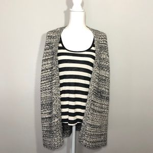 Volcom Open Front Cardigan and Tank Top Medium
